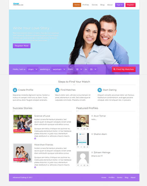 Free dating software online